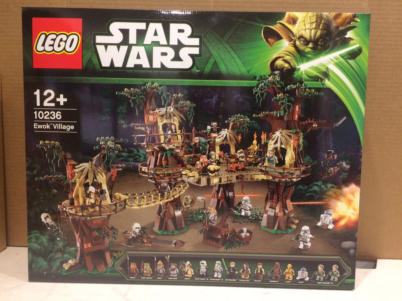 Brand New Star Wars Ewok Village Complete 10236 Instruction